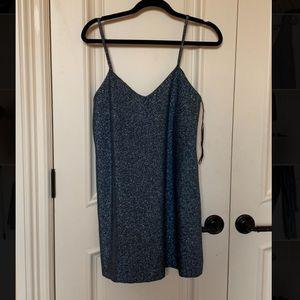 Sparkly Blue Zara Dress